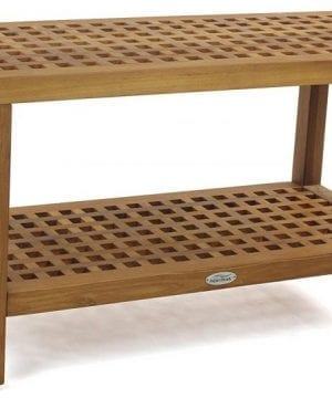10-the-original-grate-36-teak-shower-bench-300x360 Best Teak Patio Furniture Sets