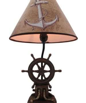 10b-captains-shipwheel-anchor-nautical-lamp-300x360 200+ Coastal Themed Lamps