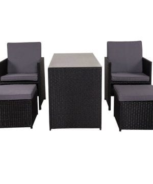 10b-sundale-outdoor-black-wicker-dining-set-300x360 100+ Black Wicker Patio Furniture Sets For 2020