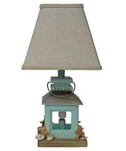 11-coastal-lantern-seashell-beach-table-lamp-247x296 100+ Coastal Themed Lamps