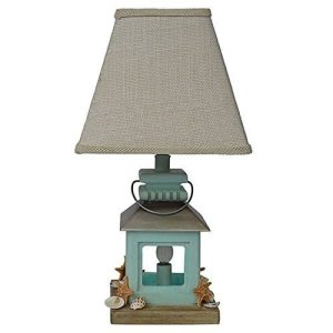 11-coastal-lantern-seashell-beach-table-lamp-300x300 Best Coastal Themed Lamps