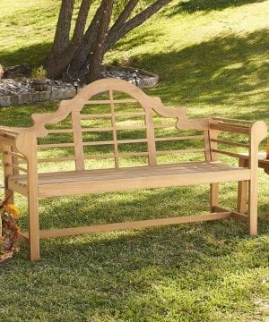 11b-lutyens-brown-4-wood-teak-bench-300x360 Ultimate Guide to Outdoor Teak Furniture