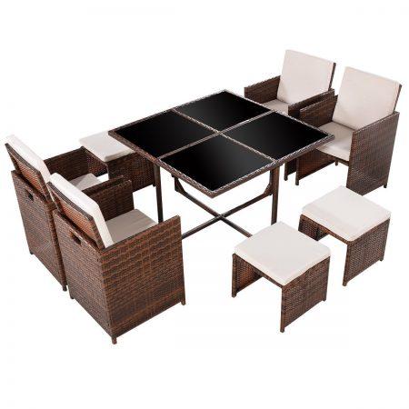 11b-tangkula-9pc-garden-wicker-dining-set-450x450 Wicker Patio Dining Sets