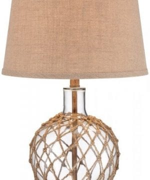 12-rope-around-clear-glass-ball-table-lamp-300x360 200+ Coastal Themed Lamps