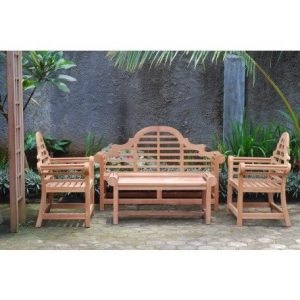 12-windsors-premium-4pc-grade-a-teak-patio-set-300x300 100+ Outdoor Teak Benches
