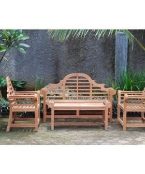 Windsors Premium 4-PC Grade-A Teak Patio Set