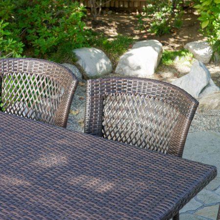 12b-dana-point-7pc-outdoor-brown-wicker-dining-set-450x450 Wicker Patio Dining Sets