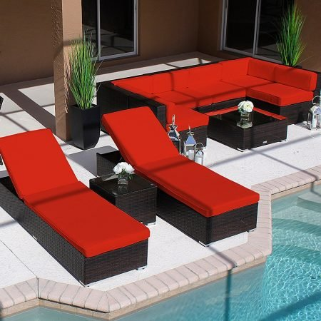 12b-modern-19pc-outdoor-red-patio-furniture-set-450x450 Wicker Patio Dining Sets