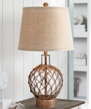 12b-rope-around-clear-glass-ball-table-lamp-300x360 200+ Coastal Themed Lamps