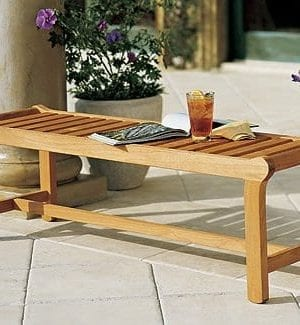 13-luxurious-grade-a-teak-backless-bench-300x325 Ultimate Guide to Outdoor Teak Furniture
