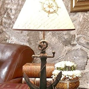 Nautical Anchor Chain Table Lamp