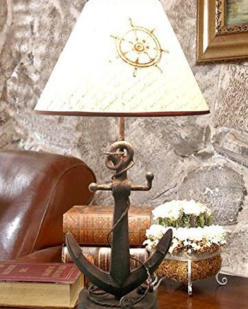 13-nautical-anchor-chain-table-lamp-361x450 100+ Coastal Themed Lamps