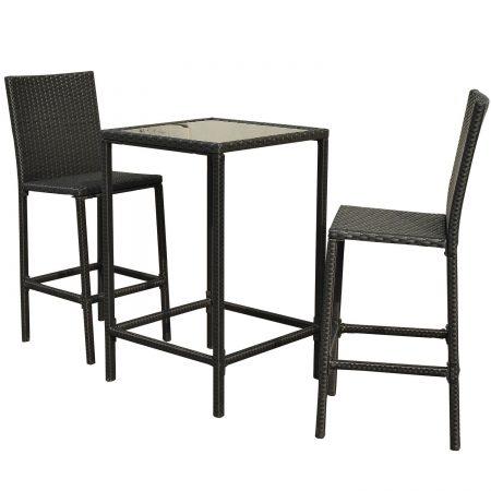 15-high-top-3pc-outdoor-wicker-dining-set-450x450 Best Outdoor Wicker Patio Furniture