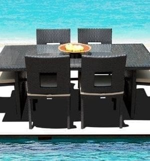 15-outdoor-brown-wicker-patio-dining-set-300x323 Best Wicker Patio Furniture Sets For 2020
