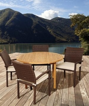 15b-amazonia-teak-colorado-5pc-round-dining-set-300x360 Best Teak Patio Furniture Sets