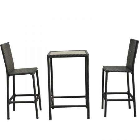 15b-high-top-3pc-outdoor-wicker-dining-set-450x450 Wicker Patio Dining Sets