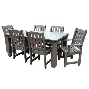 Highwood 7-PC Coastal Teak Dining Set