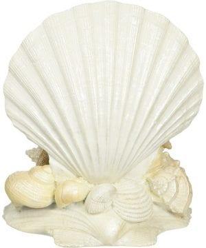 1b-Lillian-Rose-Seashell-Wedding-Cake-Topper-300x360 50+ Beach Wedding Cake Toppers and Nautical Cake Toppers For 2020
