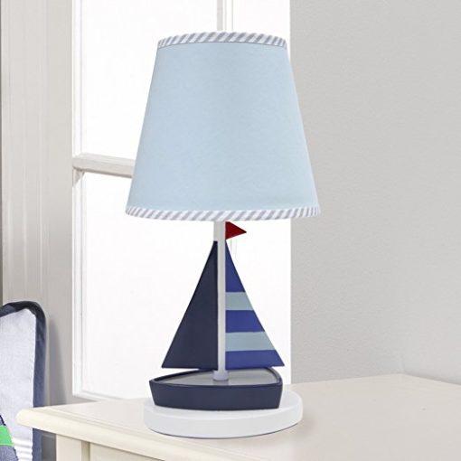Lambs & Ivy Regatta Nautical Sailboat Lamp