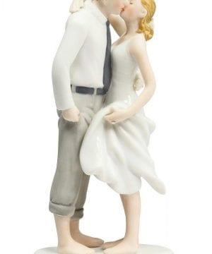 2-Beach-Get-Away-Wedding-Cake-Topper-300x360 50+ Beach Wedding Cake Toppers and Nautical Cake Toppers For 2020