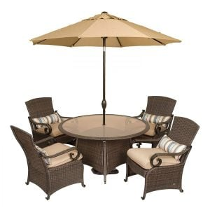 2-La-Z-Boy-Lake-Como-Wicker-Dining-Set-300x300 Wicker Dining Tables & Wicker Patio Dining Sets