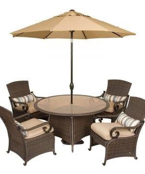 2-La-Z-Boy-Lake-Como-Wicker-Dining-Set-300x360 Best Wicker Patio Furniture Sets