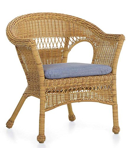 Tan Resin Wicker Chair, Resin Wicker Outdoor Furniture