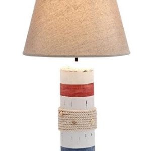 2-deco79-wood-buoy-nautical-table-lamp-300x300 Best Coastal Themed Lamps
