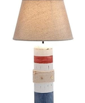 2-deco79-wood-buoy-nautical-table-lamp-300x360 200+ Coastal Themed Lamps