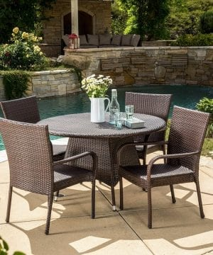 2-kory-outdoor-5pc-round-wicker-dining-set-300x360 Best Wicker Patio Furniture Sets For 2020