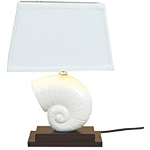 2-nautilus-shell-lamp Best Coastal Themed Lamps
