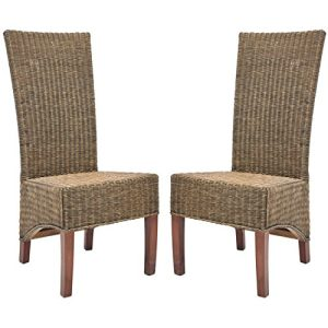 21-safavieh-home-honey-brown-wicker-chairs-300x300 Wicker Dining Chairs & Rattan Dining Chairs