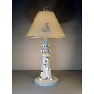 3-judith-edwards-designs-lighthouse-table-lamp-300x300 Best Coastal Themed Lamps