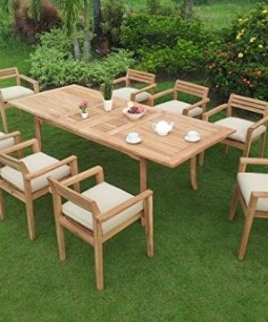 9-PC Grade-A Teak Wood Dining Set