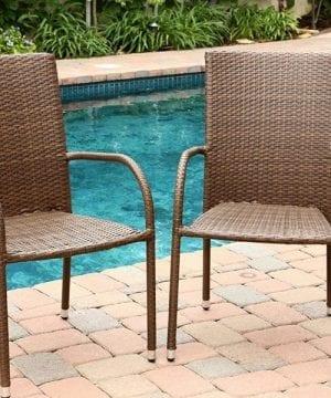 4-abbyson-living-outdoor-wicker-chairs-300x360 Best Outdoor Wicker Patio Furniture