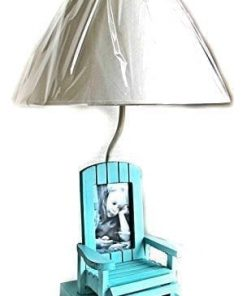 4-adirondack-chair-beach-themed-table-lamp-247x296 100+ Coastal Themed Lamps