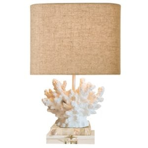 Beachcrest Home Maloney Coral Lamp