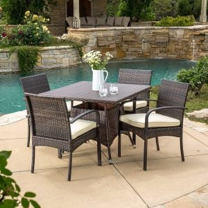 4-carmela-5pc-small-outdoor-wicker-dining-set-300x300 Wicker Dining Tables & Wicker Patio Dining Sets
