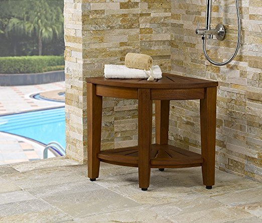 4-original-kai-15-5-corner-teak-shower-bench Outdoor Teak Benches