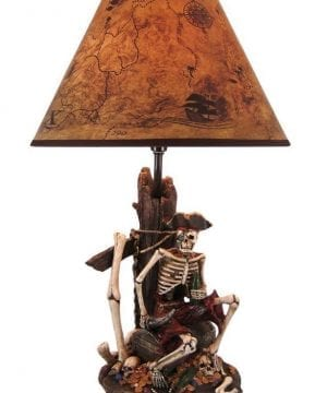 4-pirate-skeleton-island-treasure-table-lamp-300x360 200+ Coastal Themed Lamps