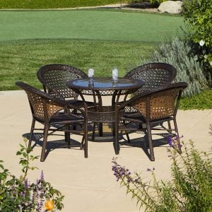 4-round-5pc-avondale-wicker-dining-set-300x300 Wicker Dining Tables & Wicker Patio Dining Sets