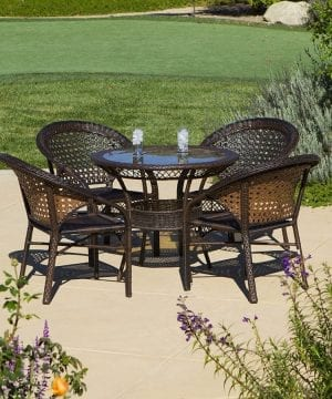 4-round-5pc-avondale-wicker-dining-set-300x360 Best Wicker Patio Furniture Sets For 2020