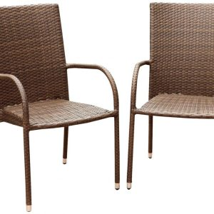 4b-abbyson-living-outdoor-wicker-chairs-300x300 Wicker Dining Chairs & Rattan Dining Chairs