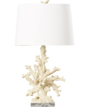 Beachcrest Home Sandybrook Coral Lamp