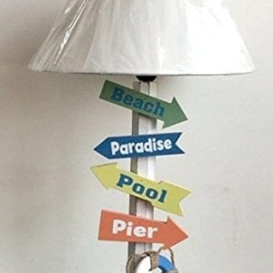 5-wood-direction-signs-beach-table-lamp-300x300 Best Coastal Themed Lamps