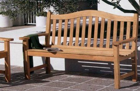 5b-grade-a-teak-5ft-wood-bench-450x291 100+ Outdoor Teak Benches