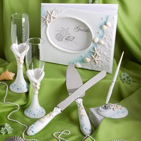 6-Finishing-Touches-Collection-Wedding-Day-Accessories-450x450 100+ Beach Wedding Decorations and Ideas