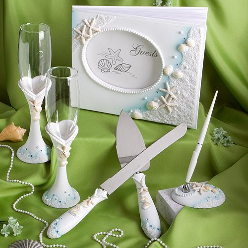 Finishing Touches Beach Wedding Day Accessories