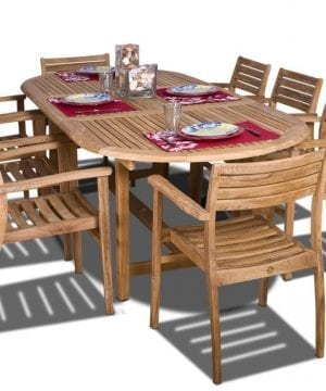 6-amazonia-oval-coventry-teak-dining-set-300x360 Best Teak Patio Furniture Sets