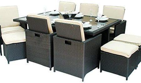 6-montiki-monte-carlo-13pc-cube-wicker-dining-set-450x265 Wicker Patio Dining Sets